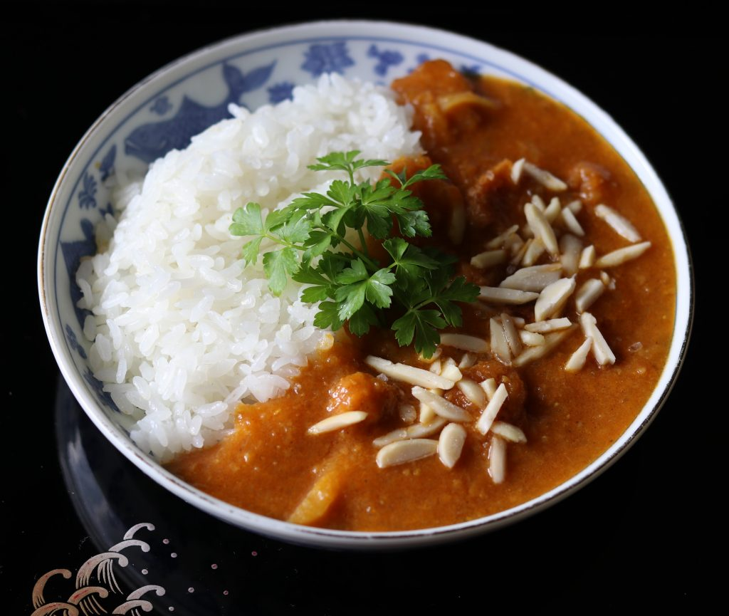 Soya Korma curry